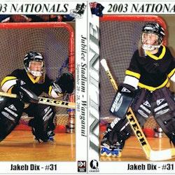 2003 Nationals - Jakeb Dix