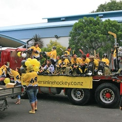 2009 Waihi Christmas Parade Float