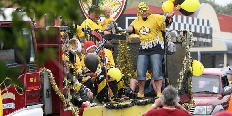 2009 Waihi Christmas Parade Float