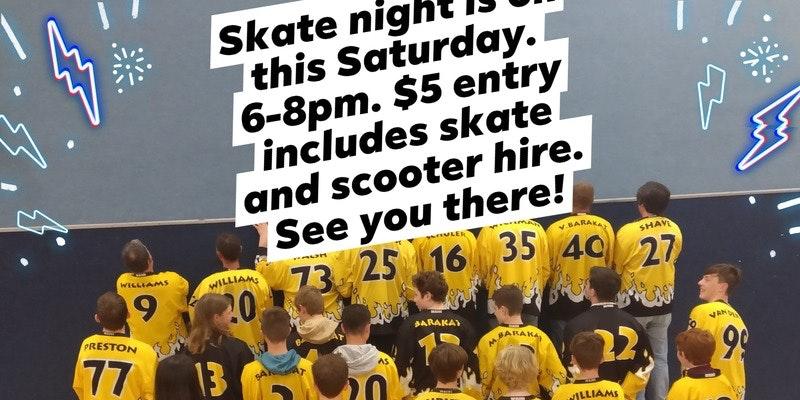 Public Skate Nights Back On!