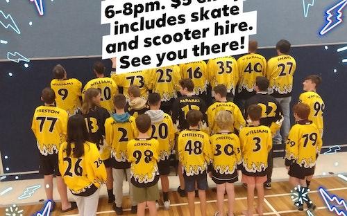 Skate Night this Saturday!